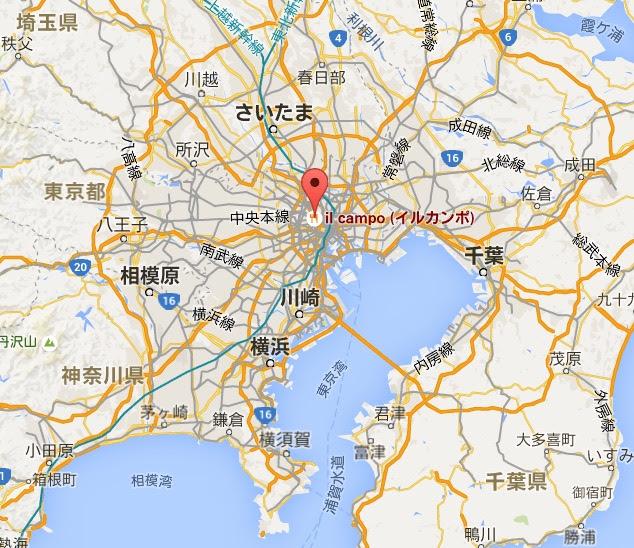 地図:神楽坂 イル カンポ