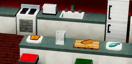 Đồ nội thất Minecraft PE Mod cho đồ nội thất APK 0
