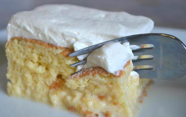 Cheater S Tres Leches Cake Recipe Just A Pinch Recipes