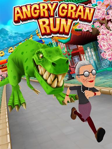Angry Gran Run - Running Game apktram screenshots 6