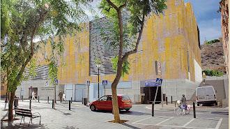 Diseño de cómo será el edificio en el que se ubicará la Gerencia de Urbanismo.