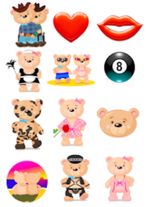 Teddy Bear Emoji(Stickers) screenshot 2