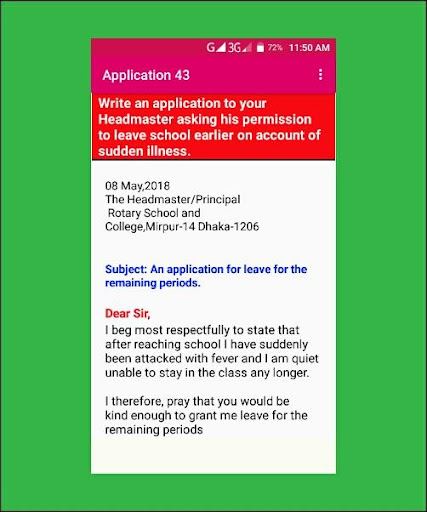 Application Writing Free App Report on Mobile Action - App Store