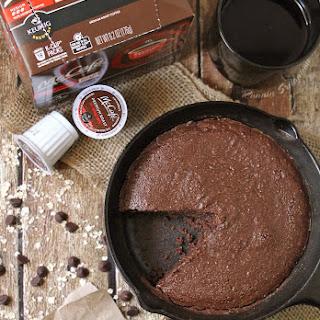 Mocha Oat Skillet Cake