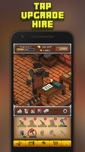 ForgeCraft - Idle Tycoon. Crafting Business Game. ss3