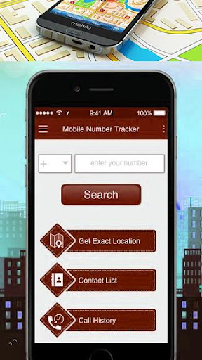 Mobile Number Location Tracking App screenshot 1