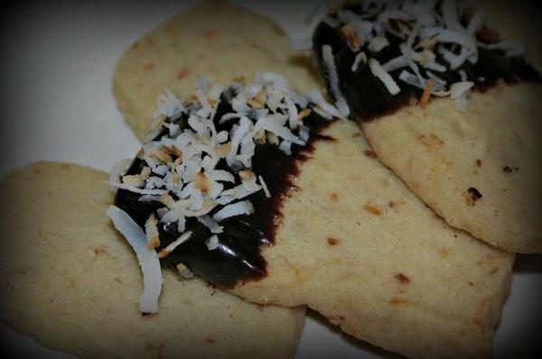 Toasted Coconut Shortbread Cookie Recipe