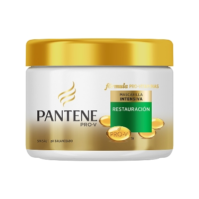 baño de crema pantene treat restau 300ml