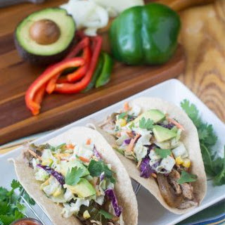 Slow Cooker Shredded Pork Tacos Recipe