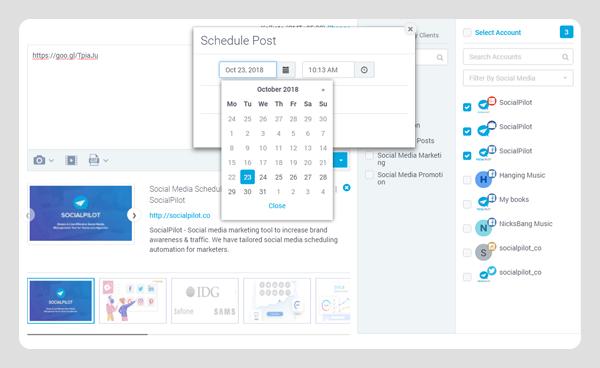 SocialPilot - Social Media Software For Scheduling Posts