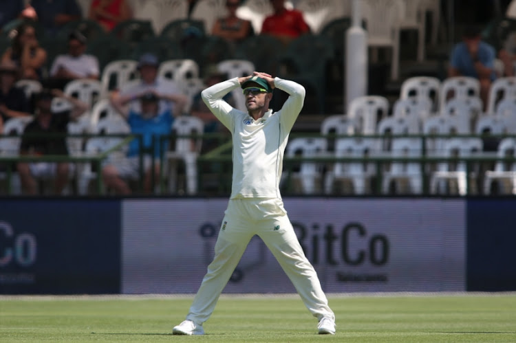 Faf du Plessis is facing an uncertain future.