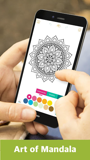 Color Mandala Book -  Mandala Coloring Art  screenshots 2
