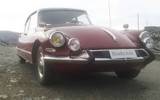 Citroen Ds Rent Finnmark