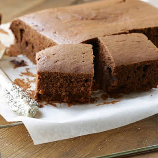 Easy Chocolate Coffee Cake.