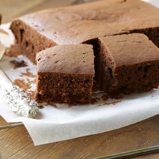 Easy Chocolate Coffee Cake.