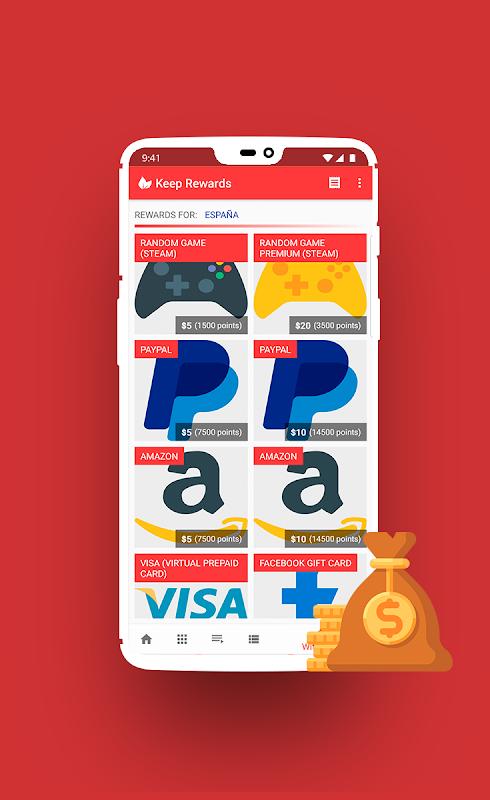 Download Keep Rewards - Free Gift Cards APK latest version