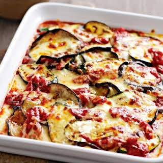 Vegetable Marrow And Eggplant Stew.