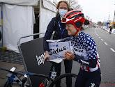 Ruth Winder kon amper geloven dat zij en niet Vollering de Brabantse Pijl gewonnen had