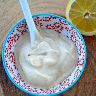 Three Ingredient Lemon Ice Cream Recipe