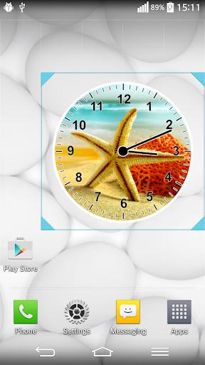 바다 스타 시계