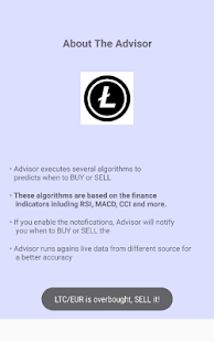 Litecoin Advisor - náhled