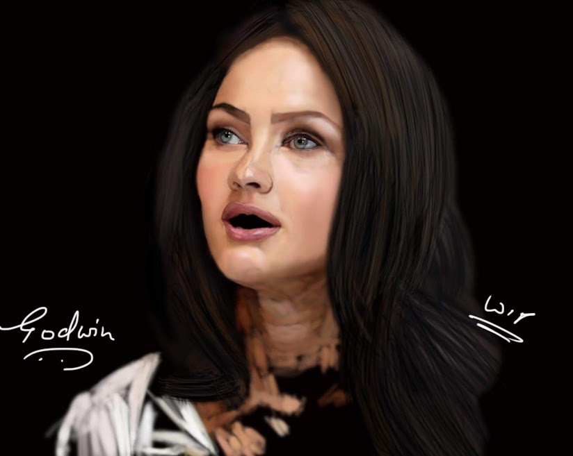 Megan Fox Digital Painting
