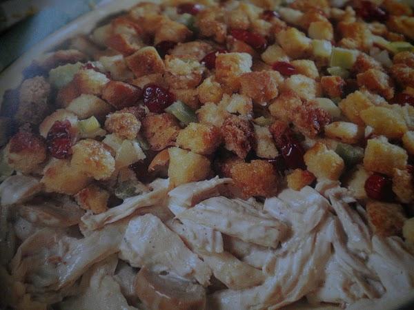 Turkey And Stuffing Bake Recipe