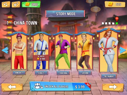Tag Team Karate Fighting Tiger: World Kung Fu King screenshots 9