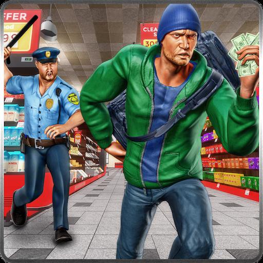 スーパーマーケット刑事エスケープ 動作 App LOGO-硬是要APP