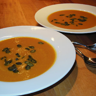 Easy Slow Cooker Pumpkin Soup