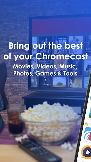 Apps for Chromecast - Your Chromecast Guide screenshot for Android