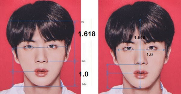 Jin is the perfect face in the world