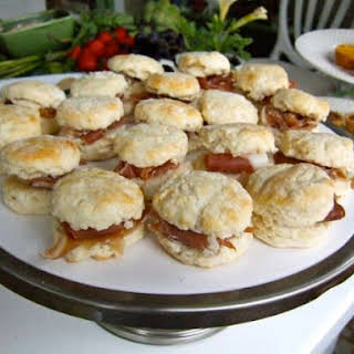 Country Ham Biscuits.