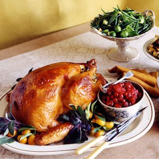 Orange and Sage Roasted Turkey and Gravy