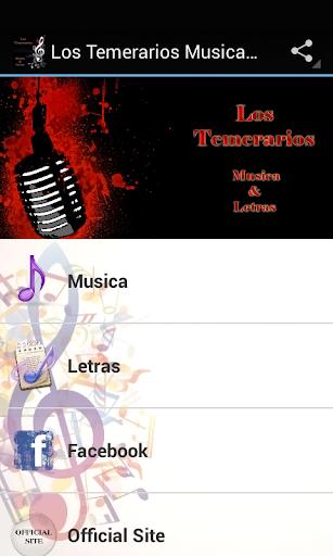 Los Temerarios Musica Letras