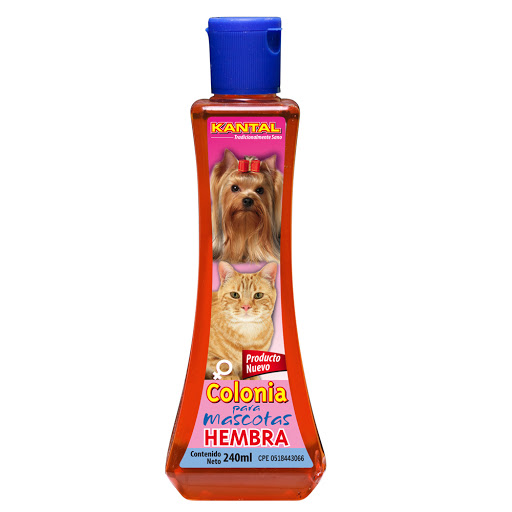 colonia para mascotas kantal para hembra 240ml