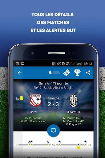 Foot Mercato : transferts, ru00e9sultats, news, live 3.6.10 screenshots 5
