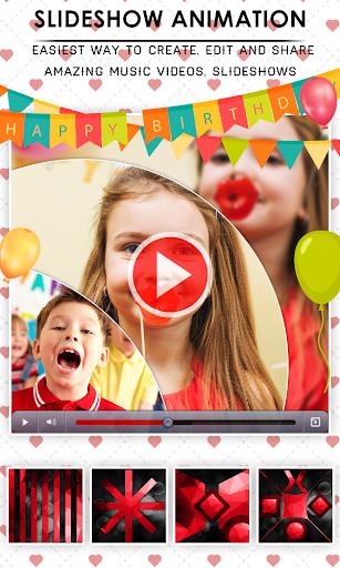 Birthday Video Maker With Music & Editor 1.0.3 screenshots 9