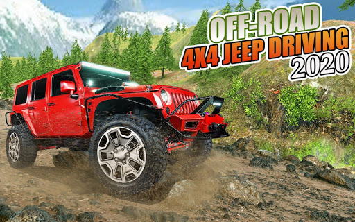 Off-Road 4x4 jeep driving Simulator : Jeep Racing android2mod screenshots 1