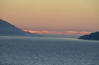 Photo: Alaska sunset Day 6