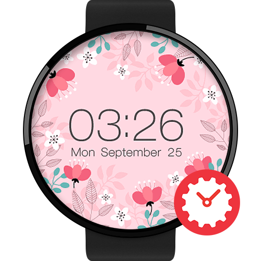 Springtime watchface by Mowmow