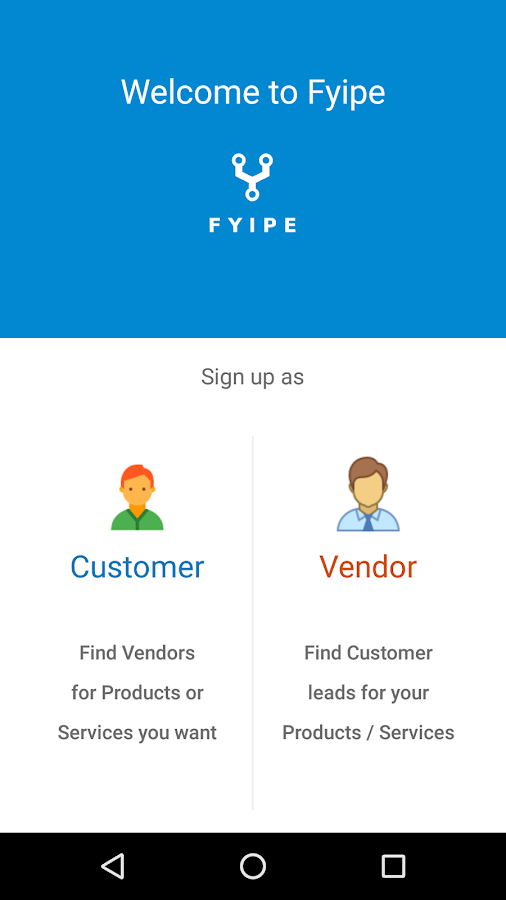 Platform for Vendors,Customers- screenshot