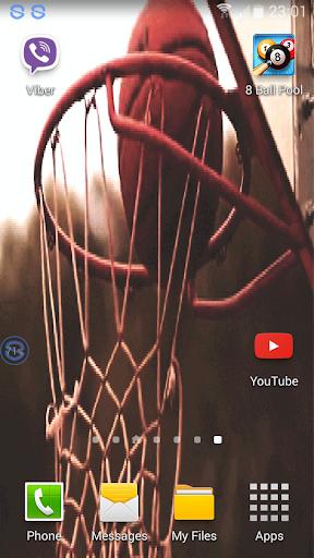 Basketball Swoosh Wallpaper