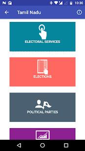 Voter List - náhled