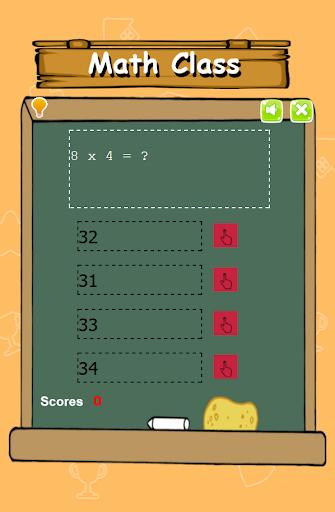 简单的数学测验为儿童