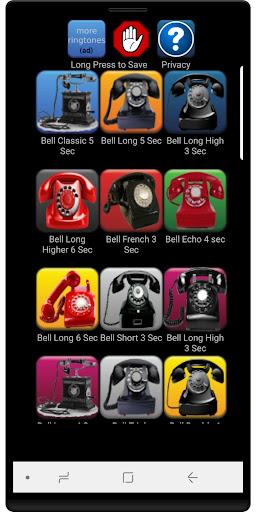 LOUD Telephone Ringtones 3.2 screenshots 1