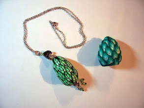 Photo: Learn how to make a Leaf cane, then use this cane make a pendent or necklace... Pick your leaf color 3oz and white or yellow 2oz.  Second day 1st project.