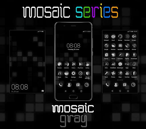 [emui 5/8/9.0]mosaic gray theme screenshot 1