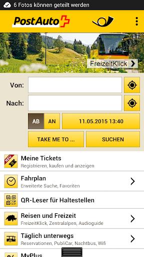 PostBus app
