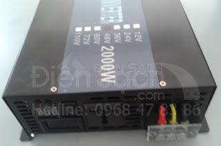 Inverter off grid Sine chuẩn 48V 2000W Powertech